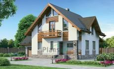 Проект бетонного дома 54-75