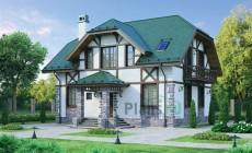 Проект бетонного дома 54-76