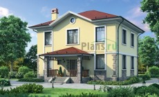 Проект бетонного дома 54-88