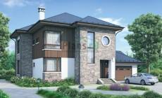Проект бетонного дома 54-98