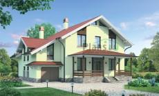 Проект бетонного дома 55-09