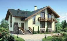 Проект бетонного дома 55-13