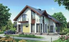 Проект бетонного дома 55-32