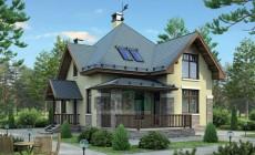 Проект бетонного дома 55-38