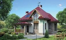 Проект бетонного дома 55-39