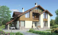 Проект бетонного дома 55-42