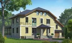Проект бетонного дома 55-58