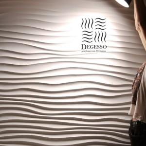 3D панели из гипса от компании Degesso