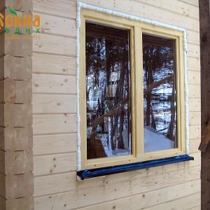 Деревянные окна со стеклопакетом ОД ОСП ГОСТ 24700
