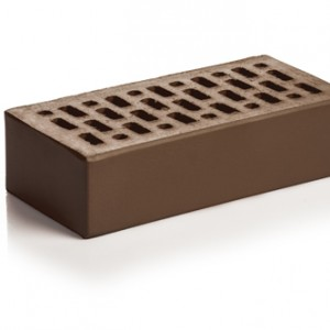 Кирпич керамический цвет Шоколад