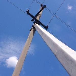 Стойка жб для опор ЛЭП  СВ110-3.5