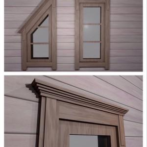 Наличники деревянные