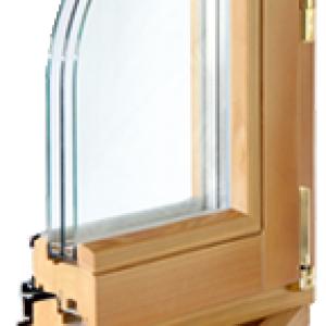 Окна из лиственницы. Система IV-78 люкс.