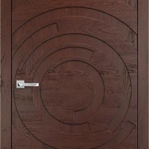 Дизайнерские двери из 100% массива