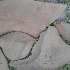 Натуральный камень песчаник Фонтанка серо-зелёная