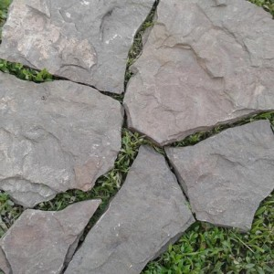 Песчаник Серо-зеленый Дракон природный камень нату