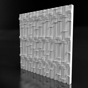 "3D панель ""Бамбук"""