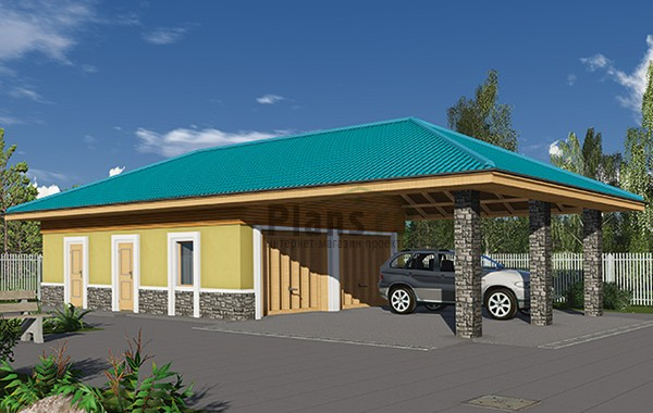 Проект кирпичного дома 41-23