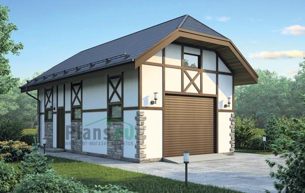 Проект бетонного дома 55-71