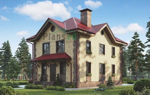 Проект бетонного дома 55-92