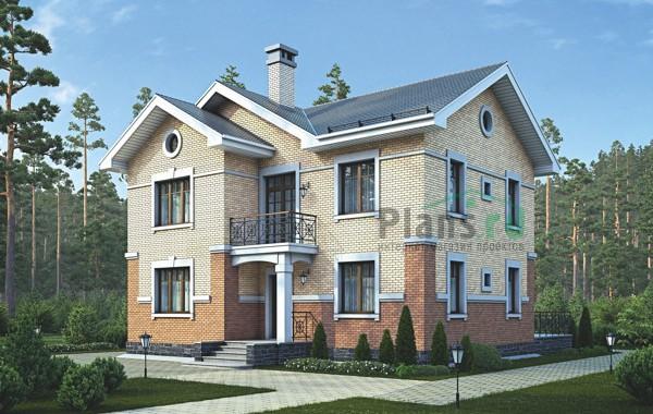 Проект бетонного дома 55-95