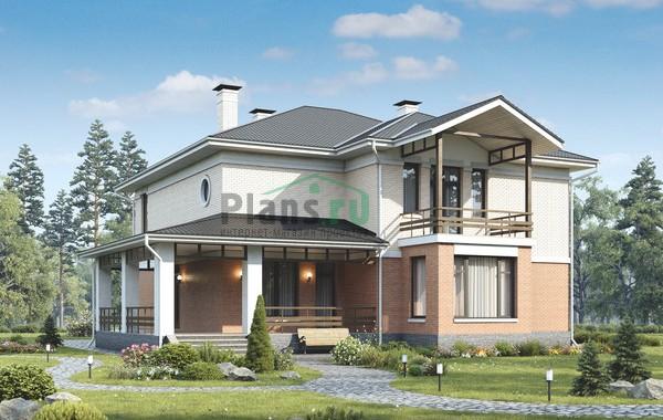 Проект бетонного дома 56-08