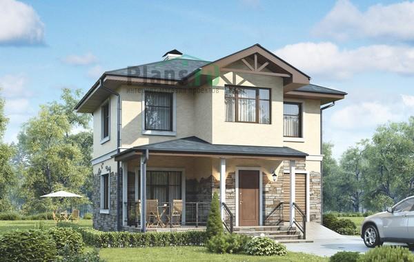Проект бетонного дома 56-13