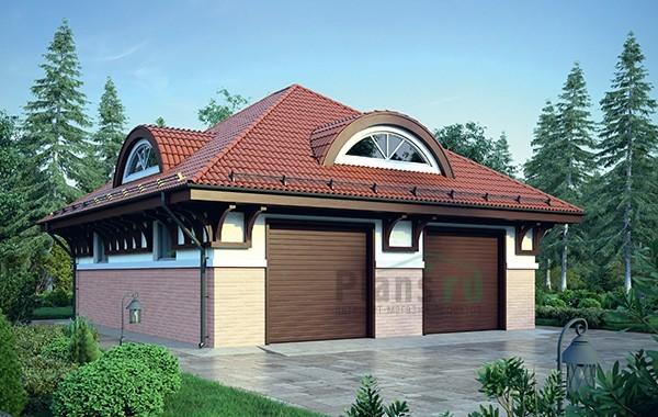 Проект бетонного дома 56-27