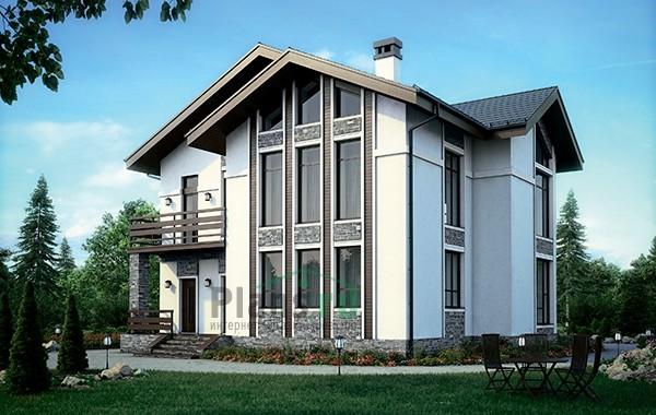 Проект бетонного дома 56-33