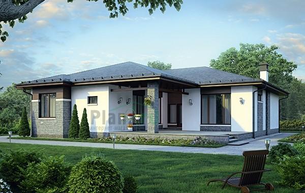 Проект бетонного дома 56-37