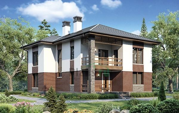 Проект бетонного дома 56-60