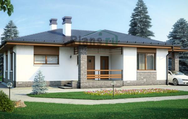 Проект бетонного дома 56-62