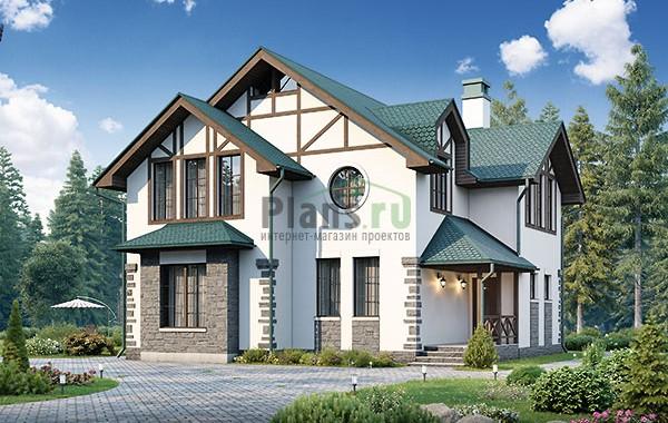 Проект бетонного дома 56-81