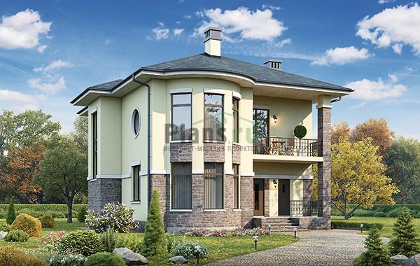 Проект бетонного дома 56-96