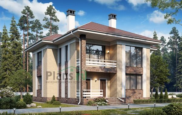 Проект бетонного дома 57-38