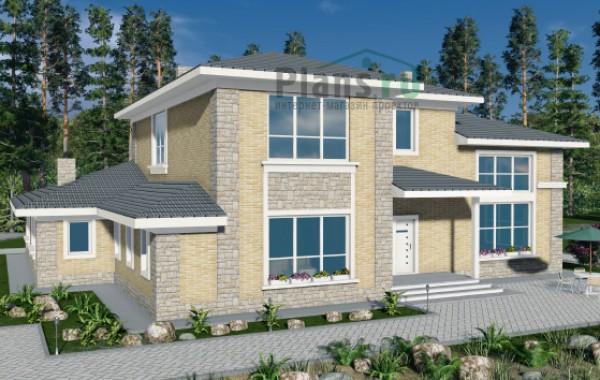 Проект бетонного дома 57-49