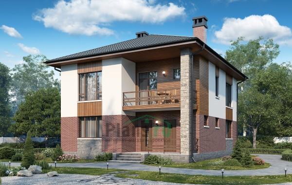 Проект бетонного дома 57-53