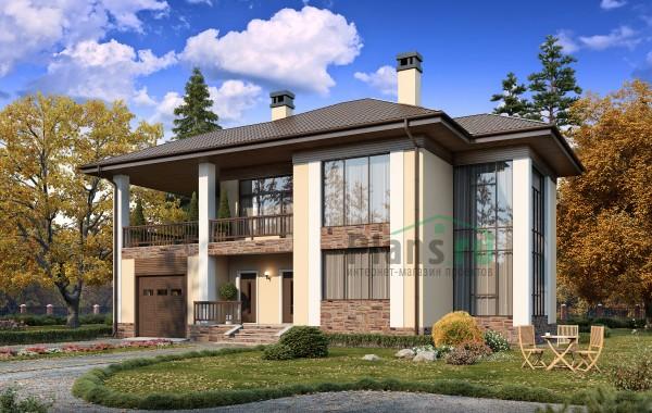 Проект бетонного дома 57-61