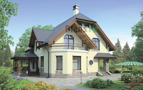 Проект бетонного дома 57-66