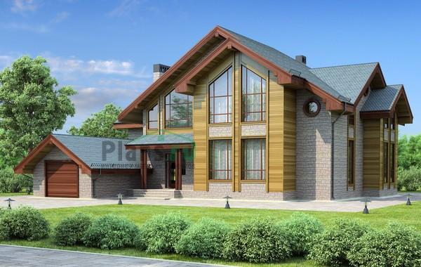 Проект бетонного дома 57-86