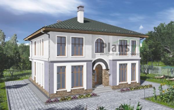 Проект бетонного дома 57-90