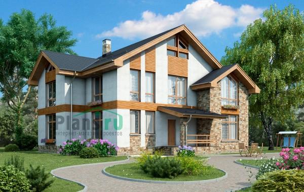 Проект бетонного дома 58-11