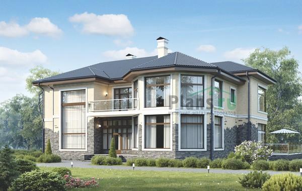 Проект бетонного дома 58-16