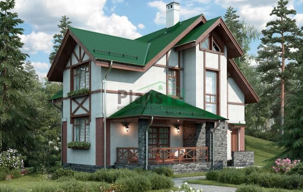 Проект бетонного дома 58-19