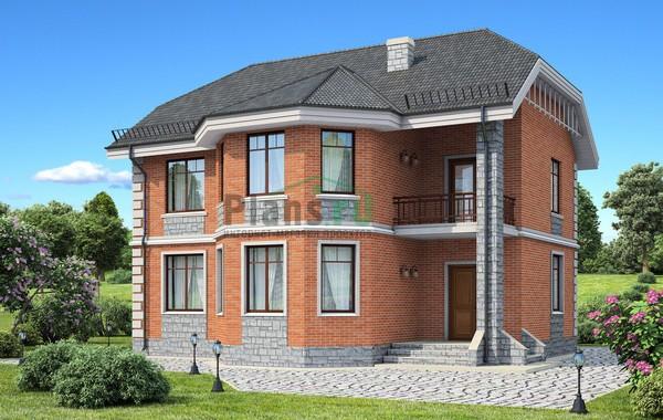 Проект бетонного дома 58-32