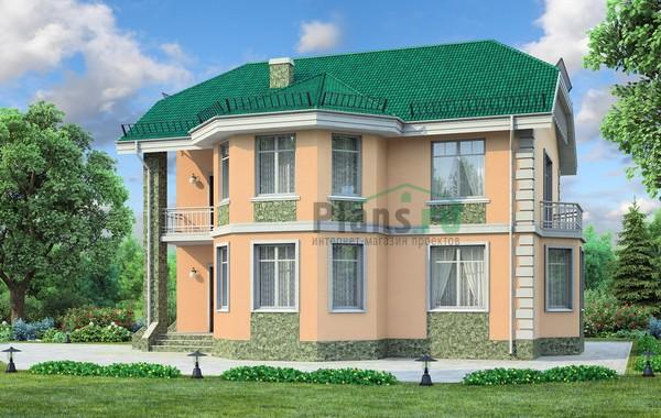 Проект бетонного дома 58-33
