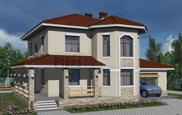 Проект бетонного дома 58-71
