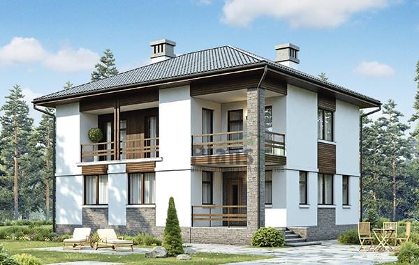 Проект бетонного дома 58-74