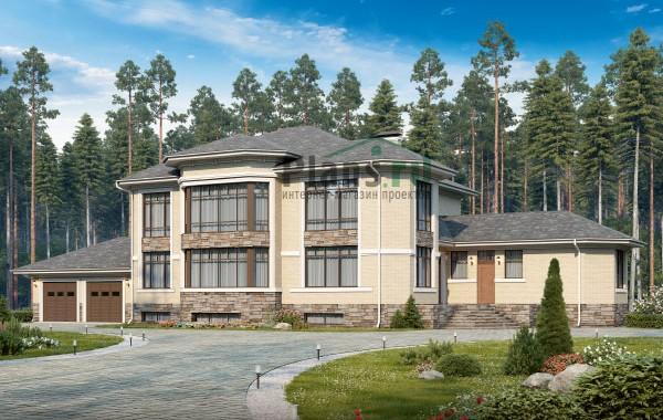 Проект бетонного дома 58-85