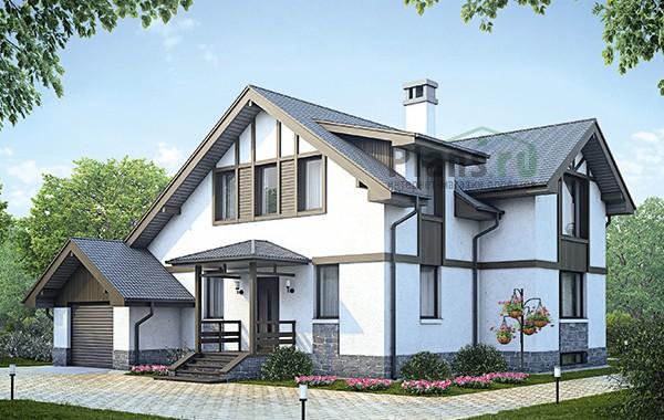 Проект бетонного дома 58-95